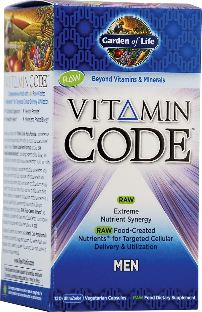 Garden of Life Vitamin Code Raw for Men